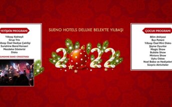Sueno Hotels Deluxe Belek Yılbaşı Programı 2020