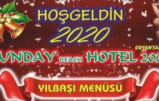 Sunday Beach Hotel Kuşadası Yılbaşı 2020