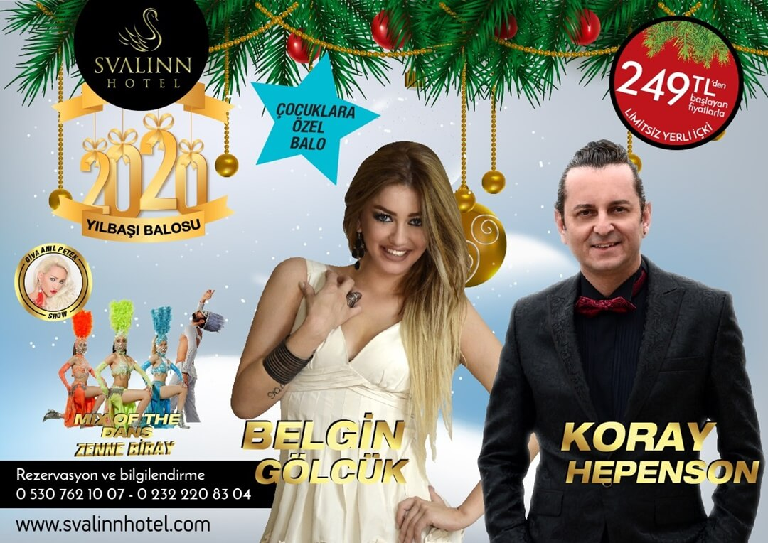 Svalinn Hotel Yılbaşı Balosu