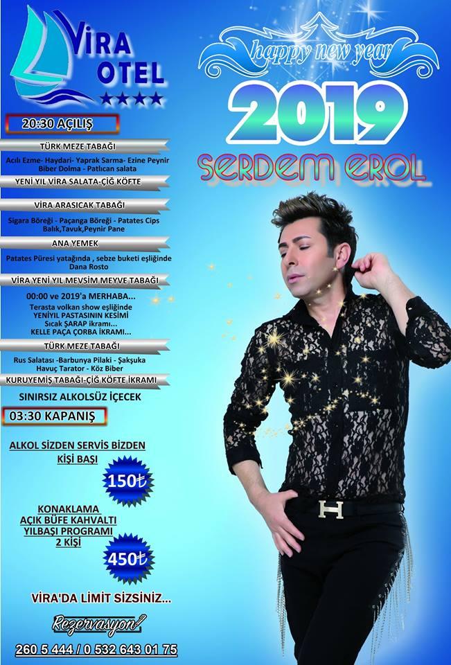 Vira Otel Sinop Yılbaşı Programı 2019