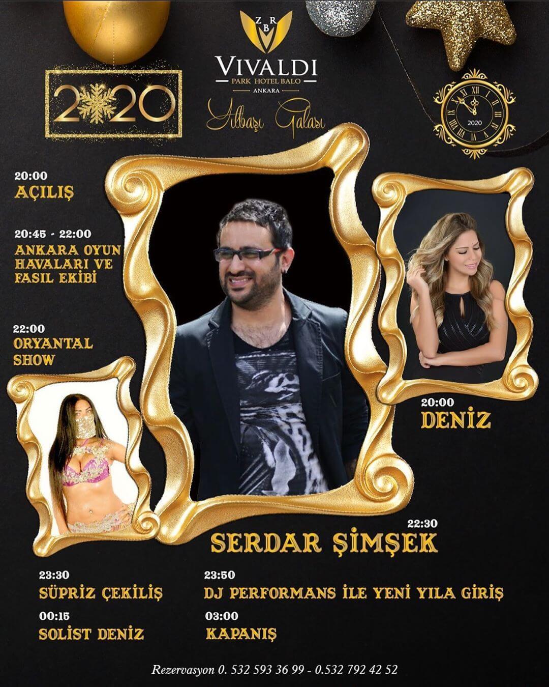 Vivaldi Park Hotel Yılbaşı Programı 2019