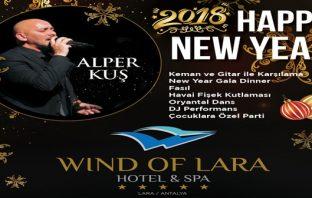 Wind of Lara Hotel & Spa Yılbaşı Programı 2018