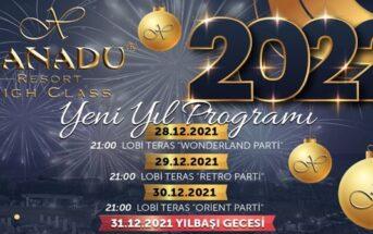 Xanadu Resort Belek Antalya Yılbaşı Programı 2020