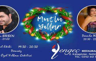 Yengeç Restaurant Fethiye Yılbaşı Programı 2019